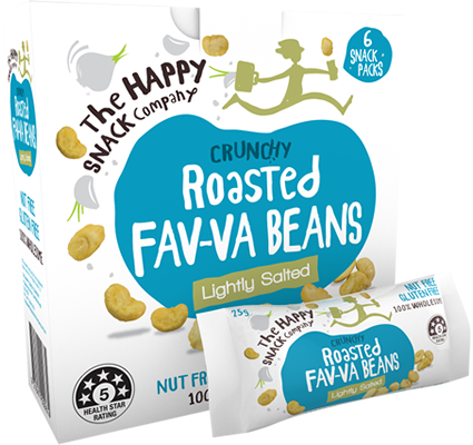 Roasted FAV-VA BEANS Classic Lightly Salted
