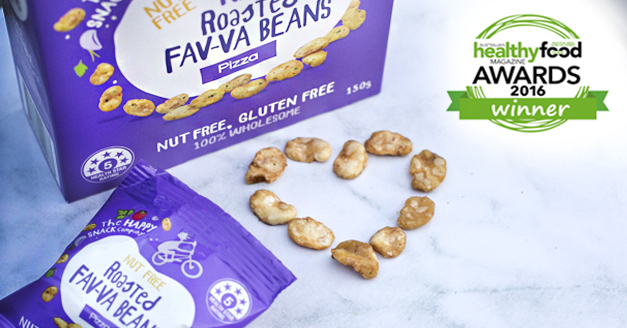Healthy Food Awards Winner: Roasted FAV_VA Beans Pizza Flavour
